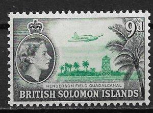 1956 Solomon Islands 98 Henderson Field, Guadalcanal MH