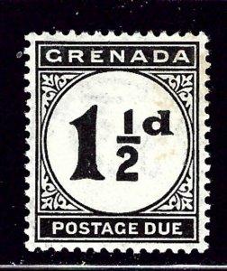 Grenada J12 MNH 1922 issue