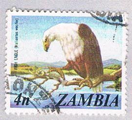 Zambia 138 Used Fish Eagle 1975 (BP26625)