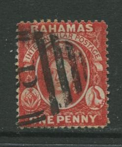 STAMP STATION PERTH Bahamas #20 QV Definitive Wmk.2 Perf.14  Used