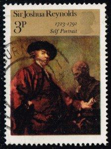 Great Britain #697 Paintings; Used (0.25)