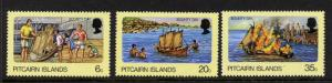 Pitcairn Islands 174-6 MNH Ships, Bounty Model