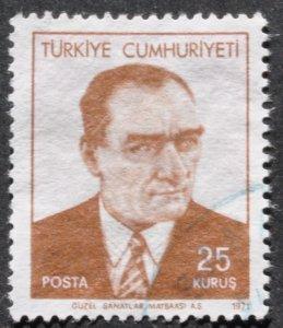 DYNAMITE Stamps: Turkey Scott #1180 – USED