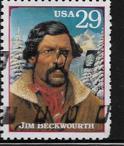 UNITED STATES, 2869 Q, USED,JIM BECKWOURTH
