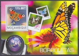 2014 Mozambique 7569/B953 Butterflies 10,00 €