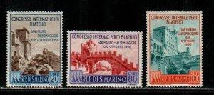 San Marino #386-388  MNH  Scott $9.00