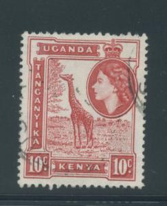 Kenya, Uganda, Tanzania 104  F-VF  Used  cjr