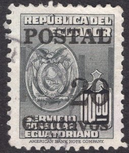 ECUADOR SCOTT 567