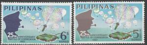 Philippine Is #971-2 MNH F-VF CV $6.10  (SU3248)