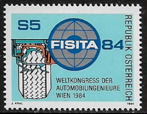 Austria #1271 MNH Stamp - Automobile Engineers