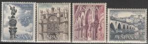 Spain #1280-83 MNH (S1193)