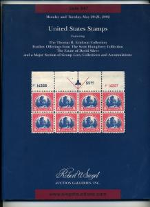 Siegel Auction Catalog of 3 major collections