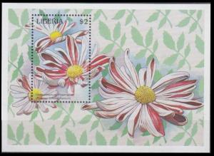 1997 Liberia 1906/B167 Flowers 7,00 €
