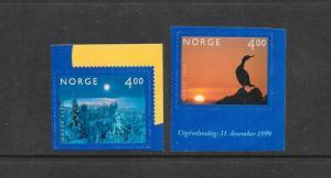 BIRD & FOREST - NORWAY #1242-43  MNH
