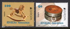 Macedonia 688-689 Europa MNH VF