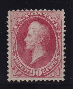 155 Scarce F-VF unused ( mint no gum ) with nice color cv $ 1800 ! see pic !
