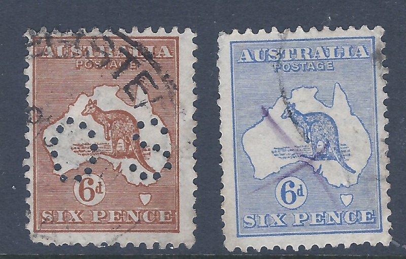 AUSTRALIA 96 & 40  SCV $51.50 STARTS AT 15% OF CAT VALUE