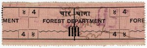 (I.B) India Revenue : Forest Department 4a