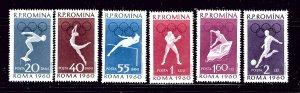 Romania 1331-36 MNH 1960 Olympics