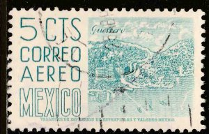 MEXICO C218, 5¢ 1950 Definitive 2nd Printing wmk 300 USED. F-VF. (647)