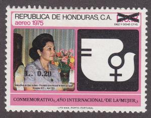 Honduras C798 Hinged 1990 International Women's Year O/P