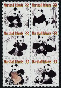 Marshall Islands 731 MNH Pandas