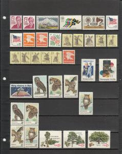 117 DIFFERENT US MNH 15 CENT STAMPS FROM 1288/C66 2019 SCV $49.95