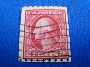 U.S. SCOTT #391  -  Used  (brig)