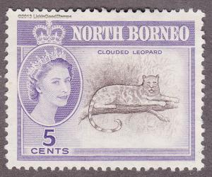 North Borneo 282 Clouded Leopard 1961