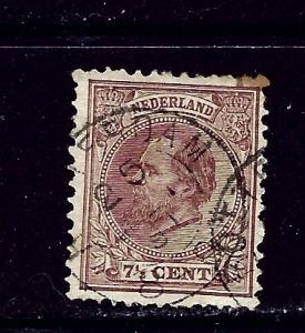 Netherlands 24 Used 1888 issue