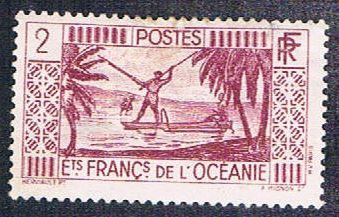 French Polynesia 81 MHR Spear Fishing (BP468)