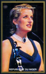 [76493] Niger 1998 Royalty Princess Diana Sheet MNH