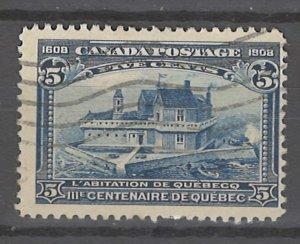 COLLECTION LOT # 3208 CANADA #99 1908 CV=$70