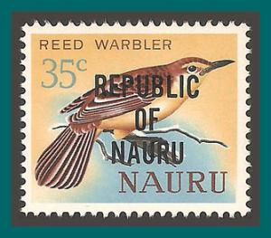 Nauru 1968 Independence, Reed Warbler, 30c MNH 83,SG91