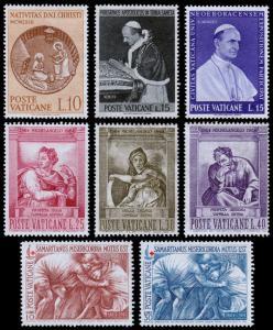 Vatican City Scott 372 // 393 (1963-64) Mint NG F-VF B