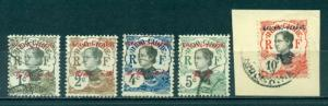France Offices in China - Kwangchowan #18-22  Used  CV $8.50