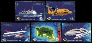 HERRICKSTAMP JERSEY Sc.# 685-89 1994 Post Office Independence