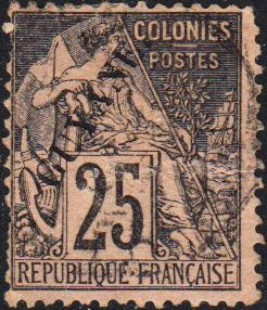 French Guiana #25 Used