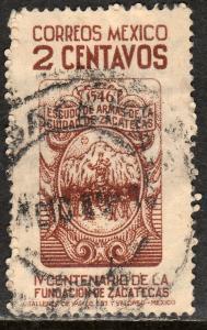 MEXICO 820, 2c 400th Anniversary of Zacatecas. Used. (878)