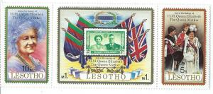 Lesotho #313 a-c Strip of three  (MNH) CV $1.50