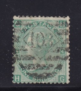 GB Scott # 54 F-VF used neat cancel with nice color cv $ 40 ! see pic !