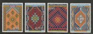 Algeria MNH sc# 393-6 Rugs 2014CV $10.10