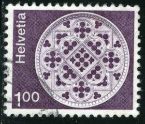 SWITZERLAND #569 , USED - 1974 - SWIT017