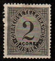 Azores #P3  Mint  Scott $6.00