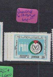 JORDAN  (PP3101BB)   DISABLED     SG  1303-5    MNH