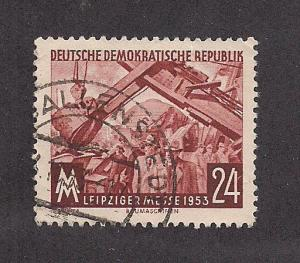 GERMANY - DDR SC# 172 VF U 1953