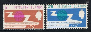 PITCAIRN ISLANDS 1965 INTERNATIONAL TELECOMMUCATION UNION