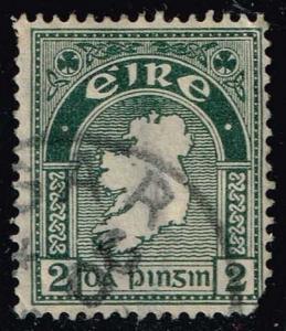 Ireland #68 Map of Ireland; Used (0.75)