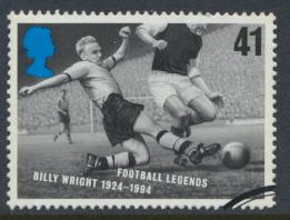 Great Britain  SG 1928 SC# 1666 Used / FU Football Legends