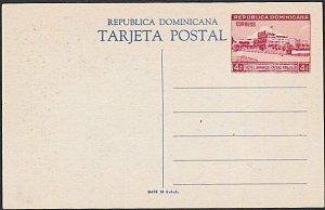 DOMINICAN REPUBLIC 1949 4 different 4c pictorial postcards fine unused....87773